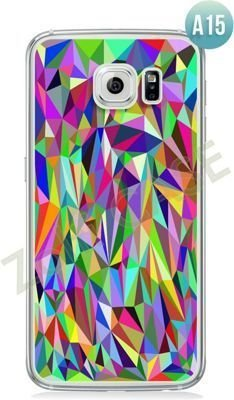 Etui Zolti Ultra Slim Case - Galaxy S6 Edge - Abstract - Wzór A15