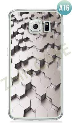 Etui Zolti Ultra Slim Case - Galaxy S6 Edge - Abstract - Wzór A16