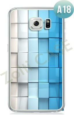 Etui Zolti Ultra Slim Case - Galaxy S6 Edge - Abstract - Wzór A18