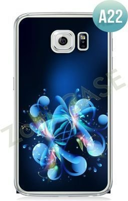 Etui Zolti Ultra Slim Case - Galaxy S6 Edge - Abstract - Wzór A22