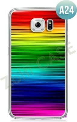 Etui Zolti Ultra Slim Case - Galaxy S6 Edge - Abstract - Wzór A24