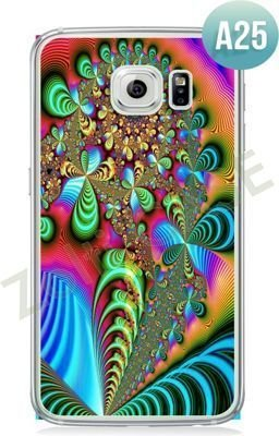 Etui Zolti Ultra Slim Case - Galaxy S6 Edge - Abstract - Wzór A25