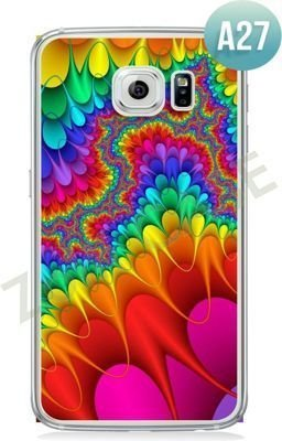 Etui Zolti Ultra Slim Case - Galaxy S6 Edge - Abstract - Wzór A27