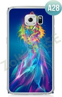Etui Zolti Ultra Slim Case - Galaxy S6 Edge - Abstract - Wzór A28