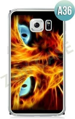 Etui Zolti Ultra Slim Case - Galaxy S6 Edge - Abstract -Wzór A36