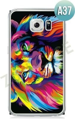Etui Zolti Ultra Slim Case - Galaxy S6 Edge - Abstract - Wzór A37