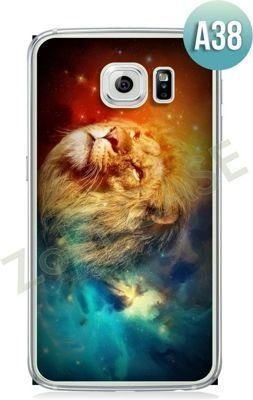 Etui Zolti Ultra Slim Case - Galaxy S6 Edge - Abstract - Wzór A38