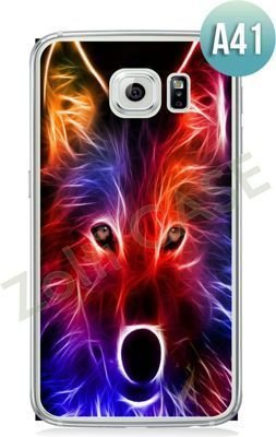 Etui Zolti Ultra Slim Case - Galaxy S6 Edge - Abstract - Wzór A41