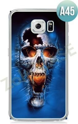 Etui Zolti Ultra Slim Case - Galaxy S6 Edge - Abstract - Wzór A45