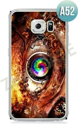 Etui Zolti Ultra Slim Case - Galaxy S6 Edge - Abstract - Wzór A52