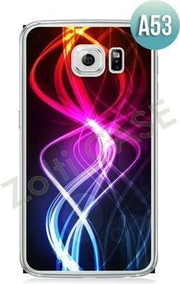 Etui Zolti Ultra Slim Case - Galaxy S6 Edge - Abstract - Wzór A53