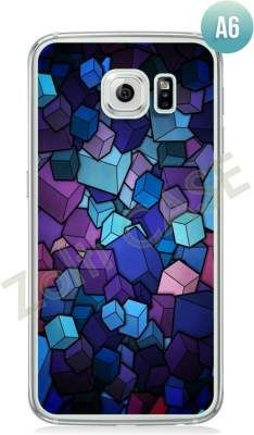Etui Zolti Ultra Slim Case - Galaxy S6 Edge - Abstract - Wzór A6