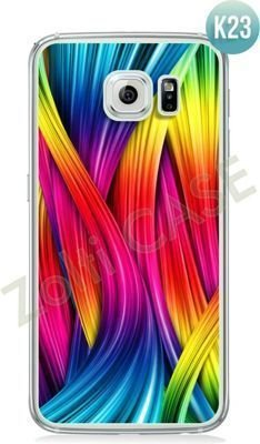 Etui Zolti Ultra Slim Case - Galaxy S6 Edge - Colorfull - Wzór K23