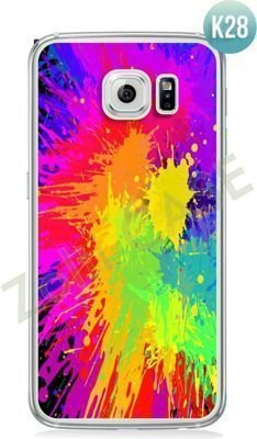 Etui Zolti Ultra Slim Case - Galaxy S6 Edge - Colorfull - Wzór K28