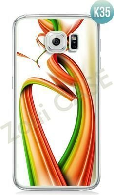 Etui Zolti Ultra Slim Case - Galaxy S6 Edge - Colorfull - Wzór K35