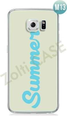 Etui Zolti Ultra Slim Case - Galaxy S6 Edge - Cool Stuff - Wzór M13