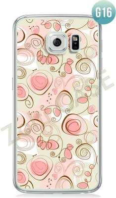 Etui Zolti Ultra Slim Case - Galaxy S6 Edge - Girls Stuff - Wzór G16