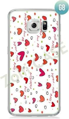 Etui Zolti Ultra Slim Case - Galaxy S6 - Girls Stuff - Wzór G8