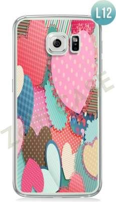 Etui Zolti Ultra Slim Case - Galaxy S6 - Romantic - Wzór L12