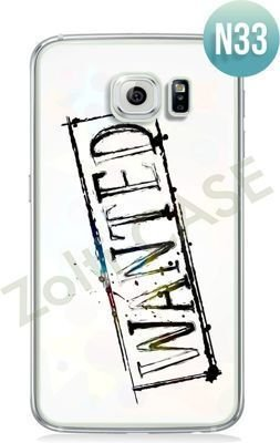 Etui Zolti Ultra Slim Case - Galaxy S6 - Texts - Wzór N33