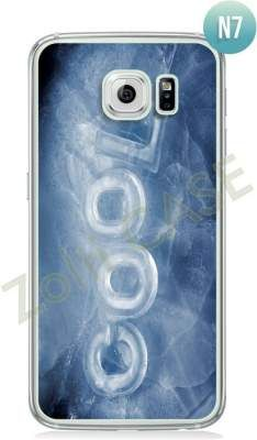 Etui Zolti Ultra Slim Case - Galaxy S6 - Texts - Wzór N7