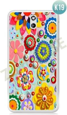 Etui Zolti Ultra Slim Case - HTC Desire 610 - Colorfull - Wzór K19