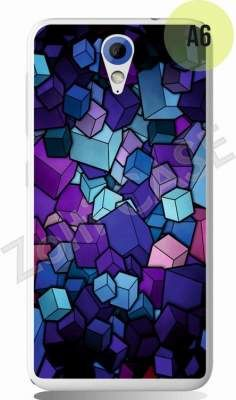 Etui Zolti Ultra Slim Case - HTC Desire 620 - Abstract - Wzór A6