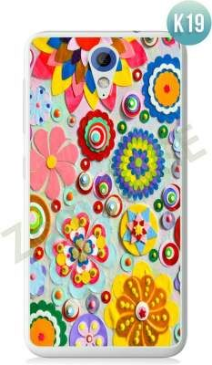Etui Zolti Ultra Slim Case - HTC Desire 620 - Colorfull - Wzór K19