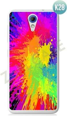 Etui Zolti Ultra Slim Case - HTC Desire 620 - Colorfull - Wzór K28