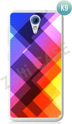 Etui Zolti Ultra Slim Case - HTC Desire 620 - Colorfull - Wzór K9