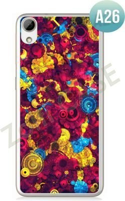 Etui Zolti Ultra Slim Case - HTC Desire 626 - Abstract - Wzór A26