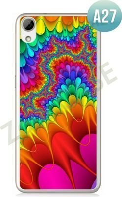 Etui Zolti Ultra Slim Case - HTC Desire 626 - Abstract - Wzór A27