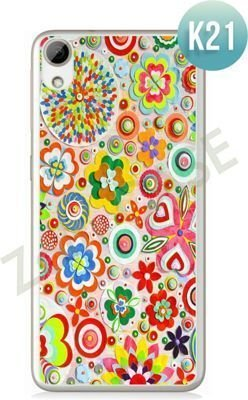 Etui Zolti Ultra Slim Case - HTC Desire 626 - Colorfull - Wzór K21