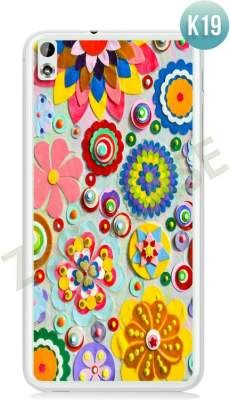 Etui Zolti Ultra Slim Case - HTC Desire 816 - Colorfull - Wzór K19