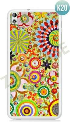 Etui Zolti Ultra Slim Case - HTC Desire 816 - Colorfull - Wzór K20
