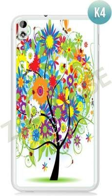 Etui Zolti Ultra Slim Case - HTC Desire 816 - Colorfull - Wzór K4