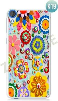 Etui Zolti Ultra Slim Case - HTC Desire 820 - Colorfull - Wzór K19