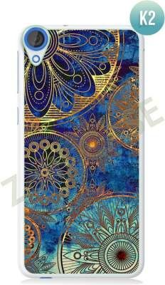 Etui Zolti Ultra Slim Case - HTC Desire 820 - Colorfull- Wzór K2
