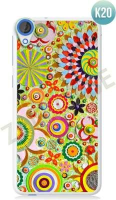 Etui Zolti Ultra Slim Case - HTC Desire 820 - Colorfull - Wzór K20