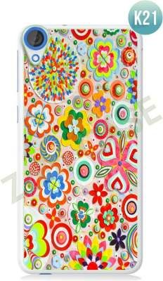 Etui Zolti Ultra Slim Case - HTC Desire 820 - Colorfull - Wzór K21