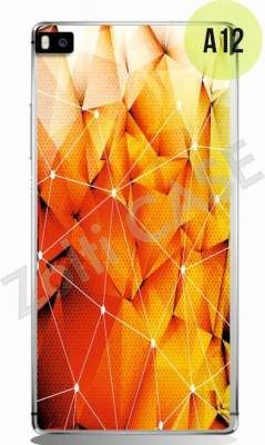 Etui Zolti Ultra Slim Case - Huawei P8 - Abstract - Wzór A12