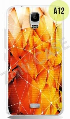 Etui Zolti Ultra Slim Case - Huawei Y5 - Abstract - Wzór A12