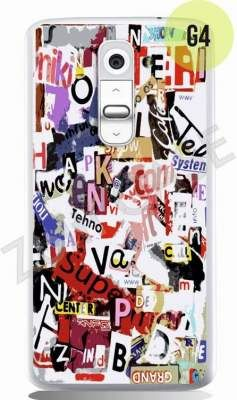 Etui Zolti Ultra Slim Case - LG G2 Mini - Girls Stuff - Wzór G4