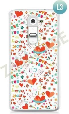 Etui Zolti Ultra Slim Case - LG G2 mini - Romantic - Wzór L3