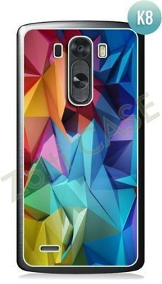 Etui Zolti Ultra Slim Case - LG G3 - Colorfull - Wzór K8