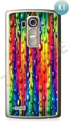 Etui Zolti Ultra Slim Case - LG G4S - Colorfull - Wzór K1