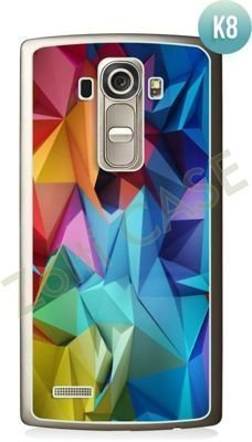 Etui Zolti Ultra Slim Case - LG G4S - Colorfull - Wzór K8