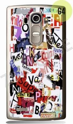 Etui Zolti Ultra Slim Case - LG G4S - Girls Stuff - Wzór G4