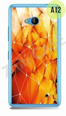 Etui Zolti Ultra Slim Case - Lumia 640 - Abstract - Wzór A12