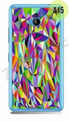 Etui Zolti Ultra Slim Case - Lumia 640 - Abstract - Wzór A15